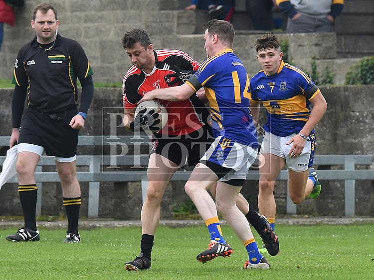 St Kevins Aidan Craven Bracknagh Robbie Barron. Photo:Colin Bell/pressphotos.ie