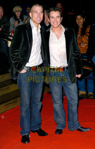 STEPHEN GATLEY & GUEST.Arrivals - Emeralds & Ivy Ball, The Roundhouse, .London, England, December 1st 2006..full length gately partner.CAP/CAN.©Can Nguyen/Capital Pictures
