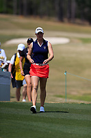 Jennifer Kupcho (USA) on the 2nd during the second round of the Augusta National Womans Amateur 2019, Champions Retreat, Augusta, Georgia, USA. 04/04/2019.<br /> Picture Fran Caffrey / Golffile.ie<br /> <br /> All photo usage must carry mandatory copyright credit (&copy; Golffile | Fran Caffrey)