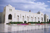 Muscat, Oman, Middle East - Sultan Qaboos Mosque.