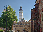 Ratusz w Bieczu. Town Hall in Biecz.