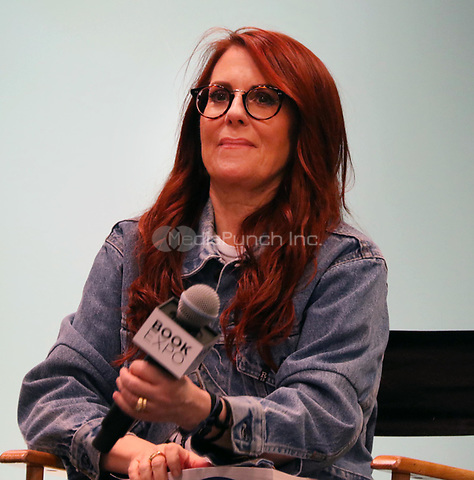 Megan Mullally 6/1/2018<br /> 2018 Book Expo at the Javitz Center<br /> Photo By John Barrett/PHOTOlink/MediaPunch