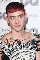 LONDON, UK. September 05, 2018: Olly Alexander at the GQ Men of the Year Awards 2018 at the Tate Modern, London