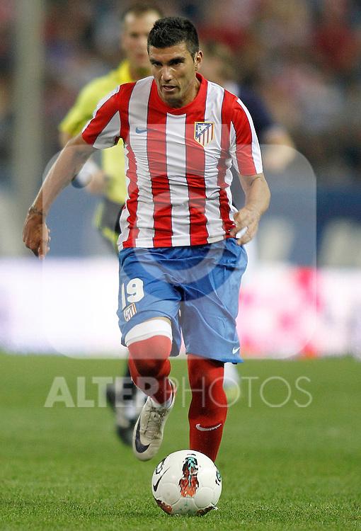 Atletico de Madrid's Jose Antonio Reyes during UEFA Europa League third qualifying round match. July 28, 2011. (ALTERPHOTOS/Alvaro Hernandez)
