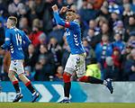 02.02.2019: Rangers v St Mirren: James Tavernier celebrates his second goal