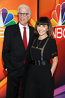 NEW YORK, NY - MAY 13: Ted Danson and Mary Steenburgen at the NBC 2019 Upfront Presentation at the Four Seasons Hotel in New York City on May 13, 2019. <br /> CAP/MPI/JP<br /> &copy;JP/MPI/Capital Pictures