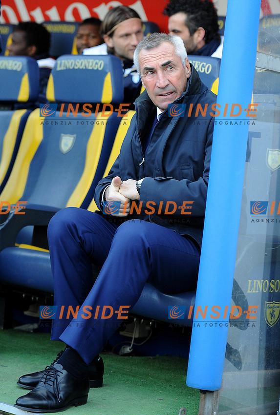 """Edoardo REJA (Lazio).Verona 29/1/2012 Stadio """"Bentegodi"""".Serie A 2011/2012.Football Calcio Chievo Verona Vs Lazio.Foto Insidefoto Alessandro Sabattini."""