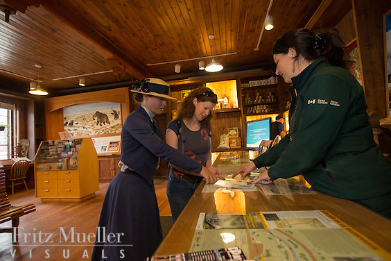 Visitor Information Centre in Dawson City, Yukon