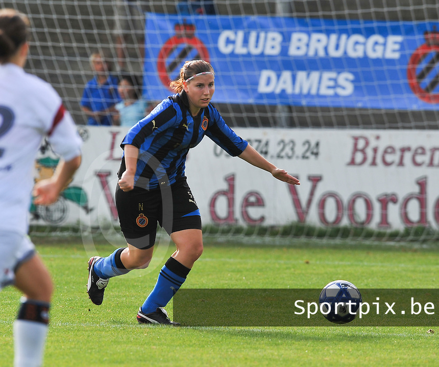 Club Brugge Dames : Lita Pouseele.Foto David Catry / Vrouwenteam.be