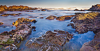 Dawn at Asilomar State Beach near Pacific Grove, CA was especially  clear this spring morning. No marine layer and a 3 second exposure help reveal the range of color in the tidal zone.