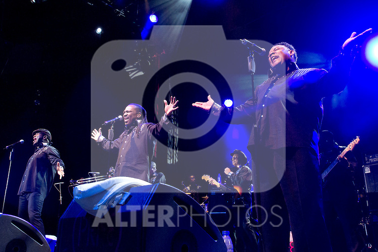 07.07.2012. Concert at Circo Price in Madrid on 'Earth Wind and Fire Experience' within the program of 'Summers of Villa 2012'. (Alterphotos/Marta Gonzalez)