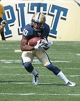 Pitt wide receiver Ronald Jones. Iowa Hawkeyes defeated the Pitt Panthers 24-20 at Heinz Field, Pittsburgh Pennsylvania on September 20, 2014.