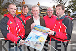 Pictured at the launch of the fundraiser in aid of Kerry Mountain Rescue Team which will be held in Beaufort Bar on Saturday 26th November were Declan Madden, Tom Murphy, Brendan Coffey and John Cronin, Kerry Mountain Rescue Team with Padraig O'Sullivan, Beaufort Bar.