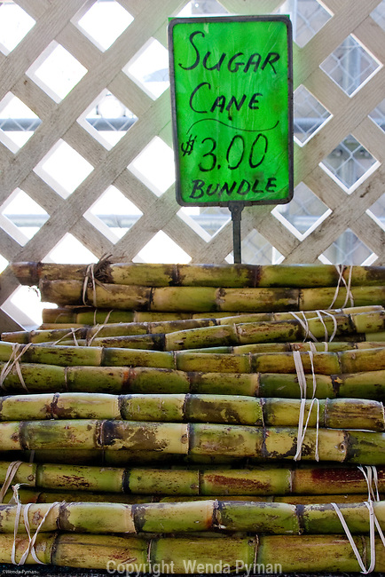 Robert is Here is a great stop for visitors on the Tropical Trail to buy local produce, such as sugarcane.