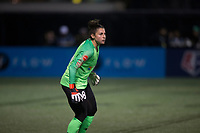 Seattle, WA - Saturday March 24, 2018: Michelle Betos during a regular season National Women's Soccer League (NWSL) match between the Seattle Reign FC and the Washington Spirit at the UW Medicine Pitch at Memorial Stadium.