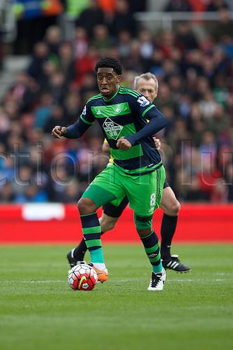 02.04.2016. Britannia Stadium, Stoke, England. Barclays Premier League. Stoke City versus Swansea City.  Swansea City midfielder Leroy Fer.
