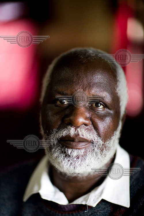 56 year old George has been the victim of political violence due to his opposition to the ruling Zanu PF. In 2002 a gang of 70 Zanu PF supporters appeared at his home one evening, intimidated his family, then burned the house to the ground. In the run up to the run-off election in June 2008, he was again intimidated by Zanu supporters, who threatened to take him to the torture chambers.