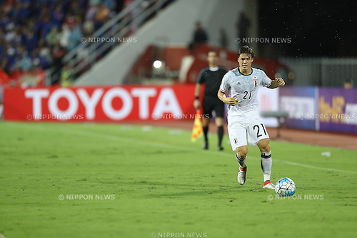 Gotoku Sakai (JPN),<br /> SEPTEMBER 6, 2016 - Football / Soccer :<br /> FIFA World Cup Russia 2018 Asian Qualifiers Final Round Group B match between Thailand 0-2 Japan at Rajamangala National Stadium in Bangkok, Japan. (Photo by Kenzaburo Matsuoka/AFLO)