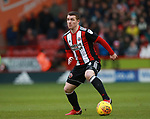 John Fleck of Sheffield Utd  during the Championship match at Bramall Lane Stadium, Sheffield. Picture date 30th December 2017. Picture credit should read: Simon Bellis/Sportimage