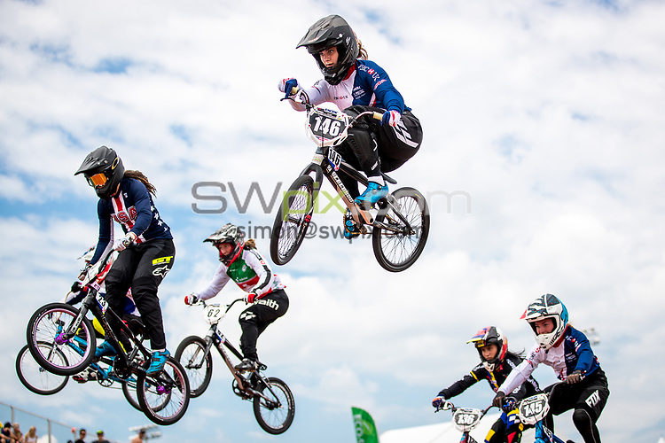 Picture by Alex Whitehead/SWpix.com - 29/07/2017 - Cycling - 2017 UCI BMX World Championships - Novant Health BMX Supercross Track, Rock Hill, USA - Bethany Shriever of Great Britain.