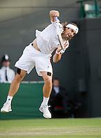 25-6-08, England, Wimbledon, Tennis,  David Ferrer