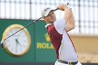 Martin Kaymer (GER) on the 18th tee during the 1st round of  the Saudi International powered by Softbank Investment Advisers, Royal Greens G&CC, King Abdullah Economic City,  Saudi Arabia. 30/01/2020<br /> Picture: Golffile | Fran Caffrey<br /> <br /> <br /> All photo usage must carry mandatory copyright credit (© Golffile | Fran Caffrey)