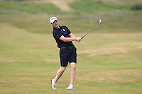 Gary McDermott (Carton House) on the 2nd during Round 4 of the East of Ireland Amateur Open Championship sponsored by City North Hotel at Co. Louth Golf club in Baltray on Monday 6th June 2016.<br /> Photo by: Golffile   Thos Caffrey