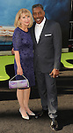 Ernie Hudson and wife arriving at the Los Angeles premiere of Ghostbusters held at the TCL Chinese Theatre on July 9, 2016.