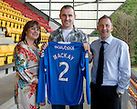 St Johnstone Players Sponsors Night, McDiarmid Park...09.05.12.Dave Mackay.Picture by Graeme Hart..Copyright Perthshire Picture Agency.Tel: 01738 623350  Mobile: 07990 594431