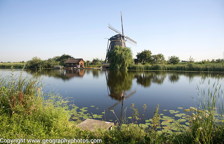 Windmills at Kinderdijk, Netherlands