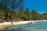 Empty Ong Lang Beach, Phuquoc, Vietnam