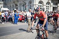 Vincenzo Nibali (ITA/Bahrain-Merida) at the start in Brussels<br /> <br /> <br /> Stage 1: Brussels to Brussels(BEL/192km) 106th Tour de France 2019 (2.UWT)<br /> <br /> ©kramon