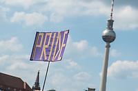"""Am Samstag den 22. Juni 2019 fand in Berlin die 15. """"Behindert und verrueckt feiern""""-Pride Parade statt.<br /> Hunderte Menschen demonstrierten zum Teil tanzend gegen die Benachteiligung behinderter, schwuler, lesbischer und trans Menschen.<br /> 22.6.2019, Berlin<br /> Copyright: Christian-Ditsch.de<br /> [Inhaltsveraendernde Manipulation des Fotos nur nach ausdruecklicher Genehmigung des Fotografen. Vereinbarungen ueber Abtretung von Persoenlichkeitsrechten/Model Release der abgebildeten Person/Personen liegen nicht vor. NO MODEL RELEASE! Nur fuer Redaktionelle Zwecke. Don't publish without copyright Christian-Ditsch.de, Veroeffentlichung nur mit Fotografennennung, sowie gegen Honorar, MwSt. und Beleg. Konto: I N G - D i B a, IBAN DE58500105175400192269, BIC INGDDEFFXXX, Kontakt: post@christian-ditsch.de<br /> Bei der Bearbeitung der Dateiinformationen darf die Urheberkennzeichnung in den EXIF- und  IPTC-Daten nicht entfernt werden, diese sind in digitalen Medien nach §95c UrhG rechtlich geschuetzt. Der Urhebervermerk wird gemaess §13 UrhG verlangt.]"""