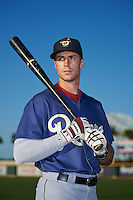 Frisco RoughRiders center fielder Ryan Cordell (20) poses for a photo before a game against the Corpus Christi Hooks on April 23, 2016 at Whataburger Field in Corpus Christi, Texas.  Corpus Christi defeated Frisco 3-2.  (Mike Janes/Four Seam Images)