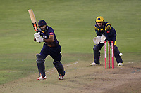 Varun Chopra in batting action for Essex during Glamorgan vs Essex Eagles, Vitality Blast T20 Cricket at the Sophia Gardens Cardiff on 7th August 2018