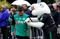 HAREN - Voetbal, Eerste training FC Groningen, Sportpark de Koepel, seizoen 2018-2019, 24-06-2018,  FC Groningen speler Michael Breij