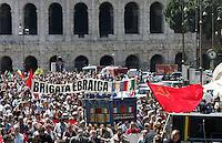 Manifestazione per il sessantatreesimo anniversario della Liberazione dal nazifascismo, a Roma, 25 aprile 2008..Demonstration for the 63rd anniversary of Italy's Liberation from nazifascism, in Rome, 25 april 2008..UPDATE IMAGES PRESS/Riccardo De Luca