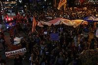 """RIO DE JANEIRO, RJ, 02.06.2016 - PROTESTO-RJ - Manifestantes se concentram para a """"Marcha das Mulheres pela Democracia"""", em apoio à presidente afastada Dilma Rousseff, no Largo da Carioca, no centro do Rio de Janeiro, na tarde desta quinta-feira (2). De acordo com a organização do evento, Dilma participará da manifestação. (Foto: Gustavo Serebrenick/Brazil Photo Press)"""