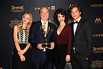 LOS ANGELES - APR 29: Olivia Rose Keegan, Ken Corday, Paige Searcy, James Lastovic at The 43rd Daytime Creative Arts Emmy Awards, Westin Bonaventure Hotel on April 29, 2016 in Los Angeles, CA