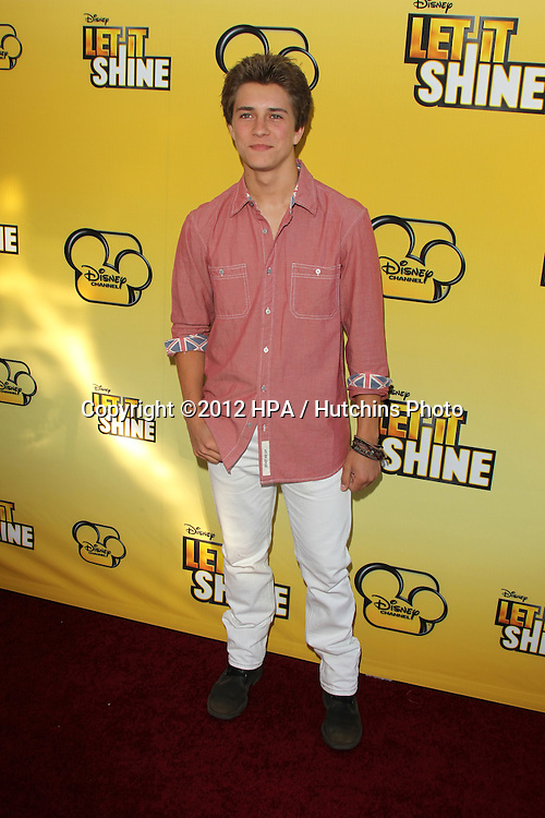 """LOS ANGELES - JUN 5:  Billy Unger arriving at the Premiere Of Disney Channel's .""""Let It Shine"""" at DGA Theater on June 5, 2012 in Los Angeles, CA"""