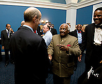 Brian Klein, Desmond Tutu. The 2010 US Soccer Foundation Gala was held at City Center in Washington, DC.