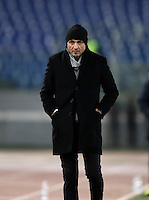 Calcio, ottavi di finale di Tim Cup: Roma vs Sampdoria. Roma, stadio Olimpico, 19 gennaio 2017.<br /> Roma&rsquo;s coach Luciano Spalletti walks on the pitch during the Italian Cup round of 16 football match between Roma and Sampdoria at Rome's Olympic stadium, 19 January 2017.<br /> UPDATE IMAGES PRESS/Isabella Bonotto