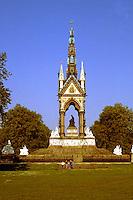 London: Albert Memorial, 1863-1871. Sir George Gilbert Scott.