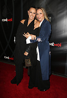 HOLLWOOD, CA - October 08: Donna Karan, Maria Bello, At 4th Annual CineFashion Film Awards At On El Capitan Theatre In California on October 08, 2017. Credit: FayeS/MediaPunch