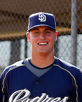 James Needy - San Diego Padres 2009 Instructional League.Photo by:  Bill Mitchell/Four Seam Images..