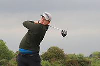 Rhys Evans (WAL) on the 2nd tee during Round 1 of The East of Ireland Amateur Open Championship in Co. Louth Golf Club, Baltray on Saturday 1st June 2019.<br /> <br /> Picture:  Thos Caffrey / www.golffile.ie<br /> <br /> All photos usage must carry mandatory copyright credit (© Golffile | Thos Caffrey)