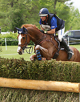 LEXINGTON, KY - April 29, 2017. #66 Mr. Medicott and Phillip Dutton from the USA finish in 6th place after the Cross Country test at Rolex Three Day Event at the Kentucky Horse Park.  Lexington, Kentucky. (Photo by Candice Chavez/Eclipse Sportswire/Getty Images)