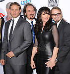 Charlie Hunnam,Kim Coates,Katey Sagal and Kurt Sutter at FX screening of Sons of Anarchy Season 6 held at Dolby Theatre in Hollywood, California on September 07,2013                                                                   Copyright 2013 Hollywood Press Agency