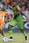 22 September 2012: Tampa Bay's Shane Hill. The Carolina RailHawks played the Tampa Bay Rowdies to a 0-0 tie at WakeMed Soccer Stadium in Cary, NC in a 2012 North American Soccer League (NASL) regular season game.