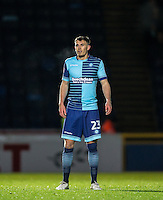 Will De Havilland of Wycombe Wanderers during the Sky Bet League 2 match between Wycombe Wanderers and Yeovil Town at Adams Park, High Wycombe, England on 14 January 2017. Photo by Andy Rowland / PRiME Media Images.